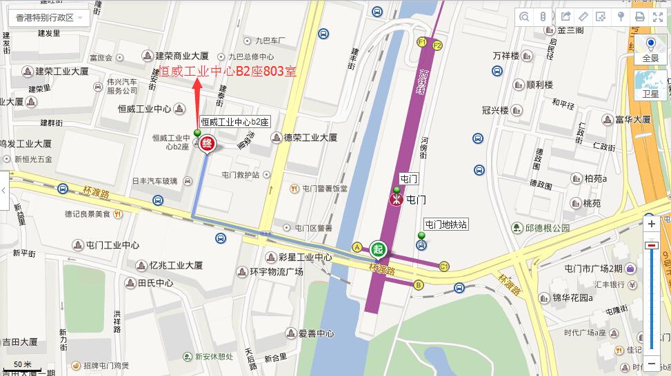 路线导航地图